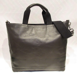 Jack Spade Two-Tone Leather Tote