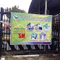 Ajak Masyarakat Patuhi Prokes 5M, Persit KCK Brebes Edukasi Lewat Pemasangan Banner