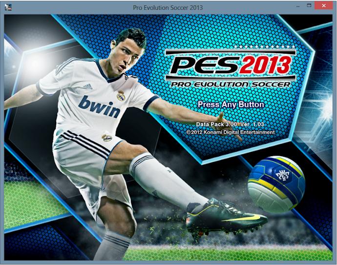 Patchs 1.03 e DLC 3.0 - PES 2013