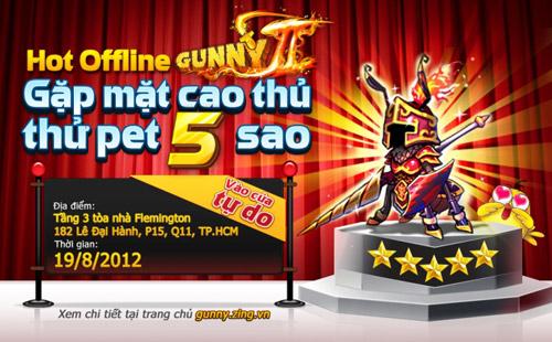VNG tổ chức offline cho game thủ chơi thử Gunny II 2