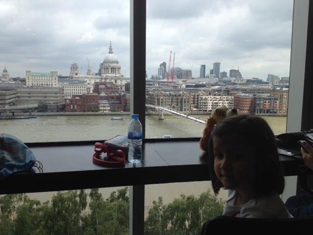 Londres viajar con niños Tate Modern museo