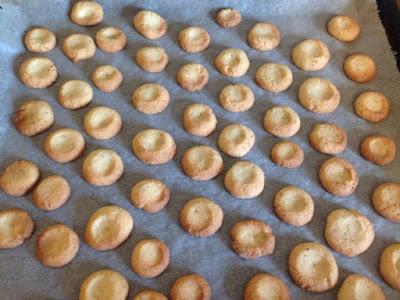 Fertig gebackene Plätzchen