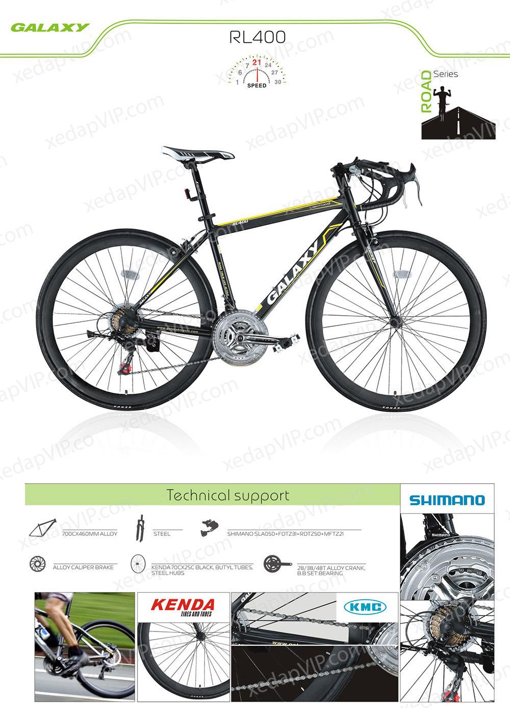Xe dap the thao cuoc GALAXY RL400, xe dap the thao, xe dap trinx, xe đạp thể thao chính hãng, xe dap asama, rl400