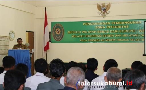 Zona Integritas Peningkatan Layanan Publik Menuju Sukabumi Bebas Korupsi