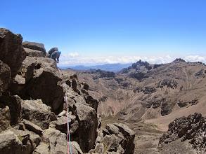 Photo: Ken near summit