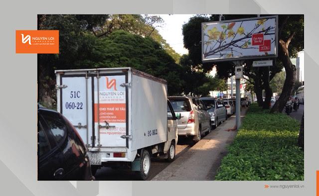 xe tải 500kg chở hàng