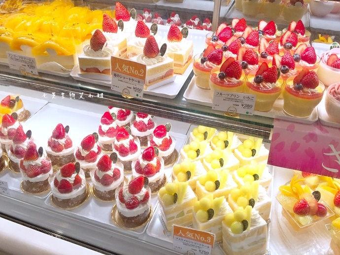 12 新宿高野 TAKANO 東京池袋西武百貨 水果蛋糕 草莓蛋糕