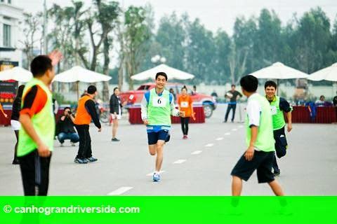 Hình 2: Ngày hội thể thao dành riêng cho cư dân Vinhomes