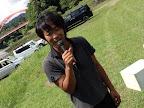 久々の会長 那須  那須というより 茄子みたいに真っ黒 2011-07-19T13:58:13.000Z