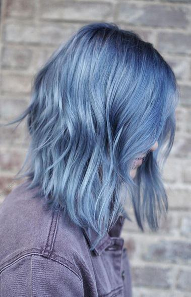 cool multicolored hair for women 2018