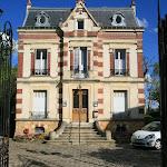 Rue de la Gare : jardin public