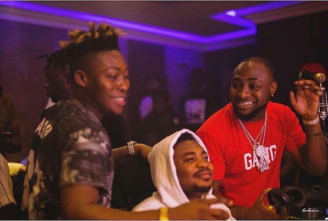 Reekado Banks Features Davido In New Music, Set To Drop Soon (Photos)