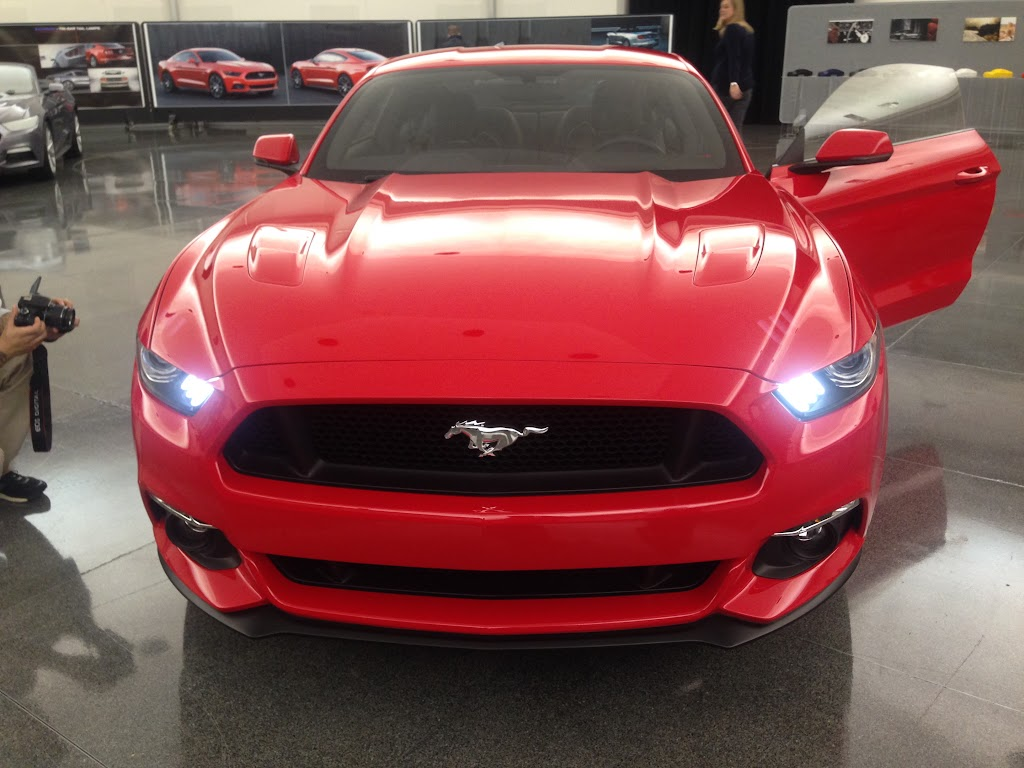 Ford Mustang Design Process - 1