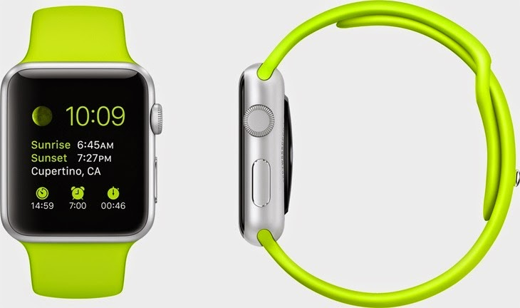 Apple Watch Sport_green