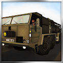 Military Cargo Transport Truck icon
