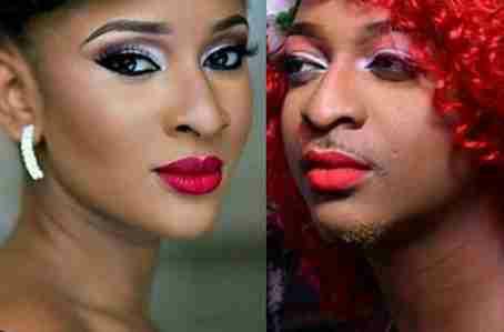 IK Ogbonna & Adesua Etomi In Makeup Competition
