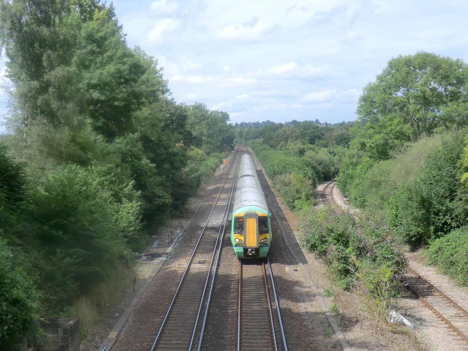 CIMG3734 The London-Brighton and Ardingly branch line from Copyhold Bridge