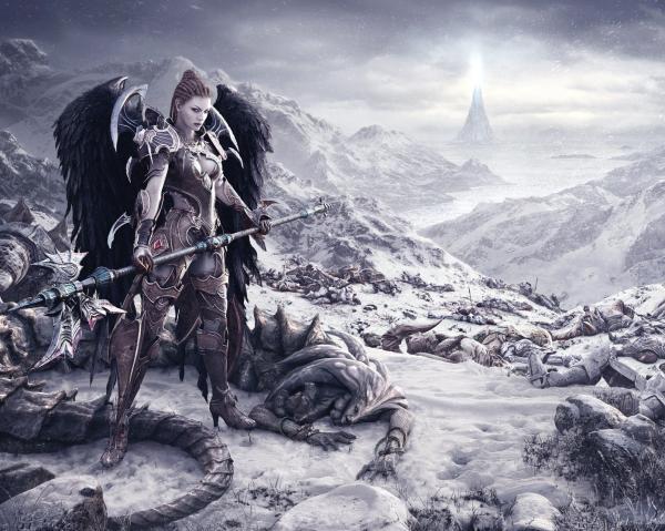 Sweet Baroness Of Agony, Dark Goddess