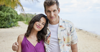 Chloe Bridges and Scott Michael Foster in Love, For Real