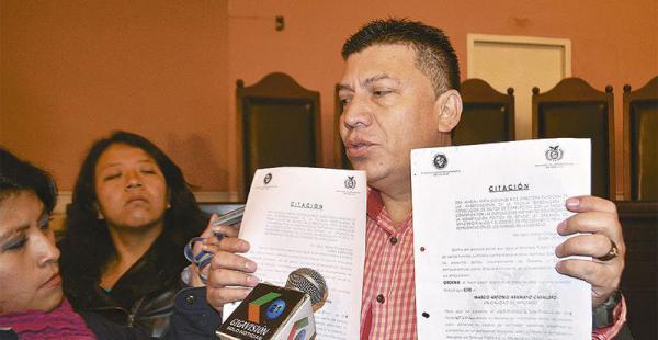 Malversación de fondos en Bolivia