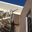 Silane/siloxane masonry water repellents are commonly used on commercial projects