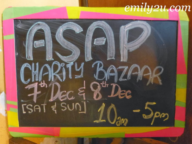 weekend charity bazaars