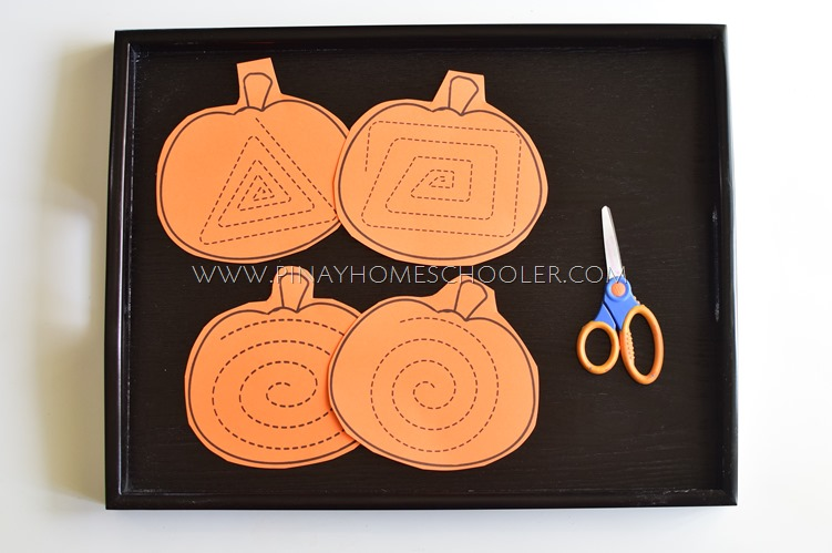 Cutting Spirals on Pumpkin