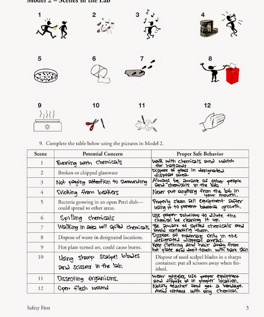 Tom Schoderbek Chemistry: Safety POGIL