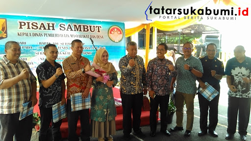 Pisah Sambut Kepala DPMD Kabupaten Sukabumi / Foto : Rapik Utama (10/1/2019)