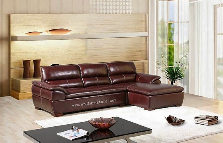 mẫu ghế sofa da thật số 13