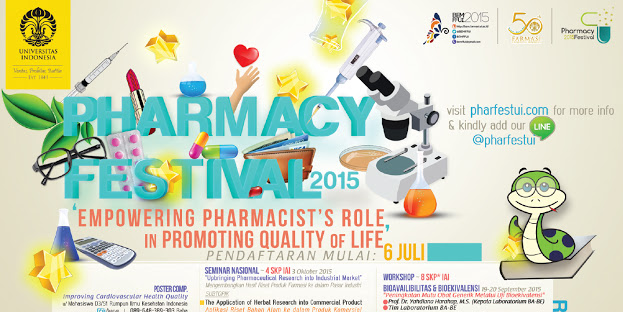 EVENT: PHARMACY FESTIVAL UI 2015
