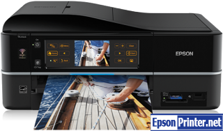How to reset flashing lights for Epson Photo 820U printer