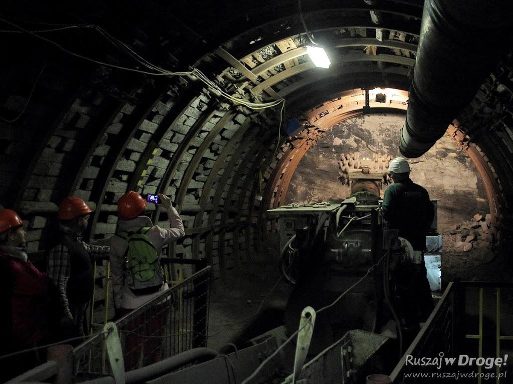 Kopalnia GUIDO w Zabrzu - działające maszyny górnicze