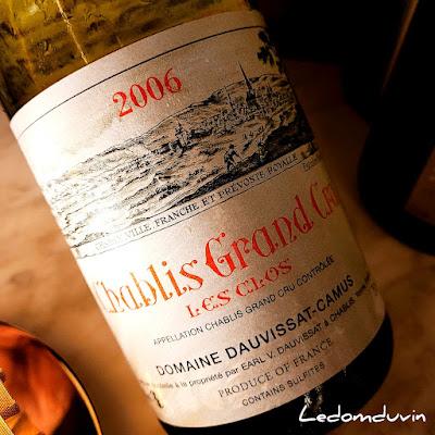 Domaine Dauvissat-Camus Chablis Grand Cru Les Clos 2006 by ©LeDomduVin 2021