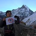 Gordana u Annapurna base kampu