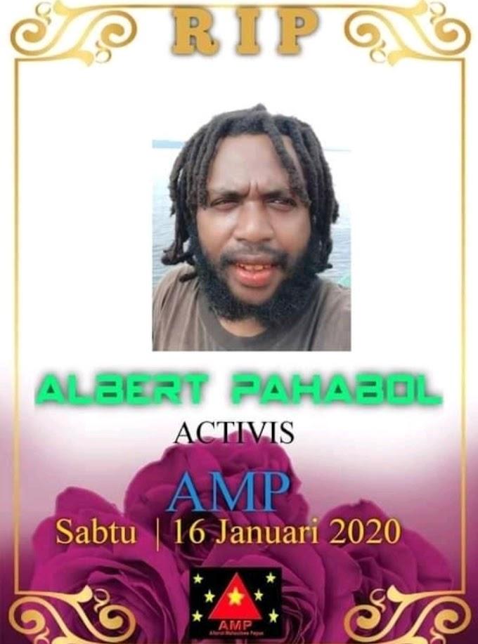 Sekretaris II AMP Pusat, Albert Mungguar Meninggal Dunia: Sekawan AMP Mengucapkan Turut berdukacita