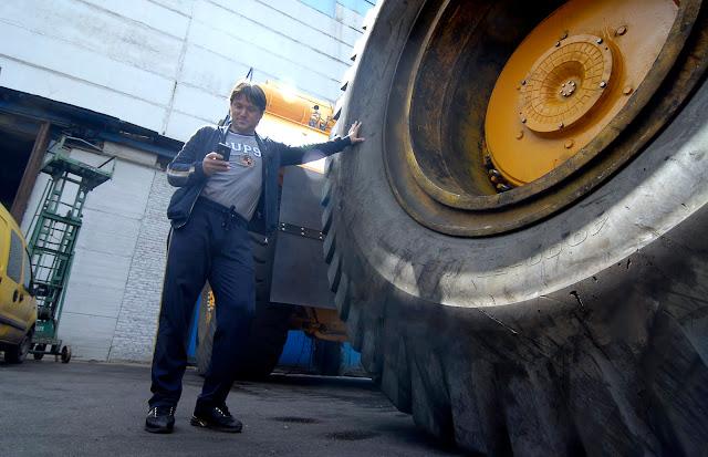 Вадим Евсеев: «До меня из гостей завода на БелАЗе ездил только Уго Чавес»