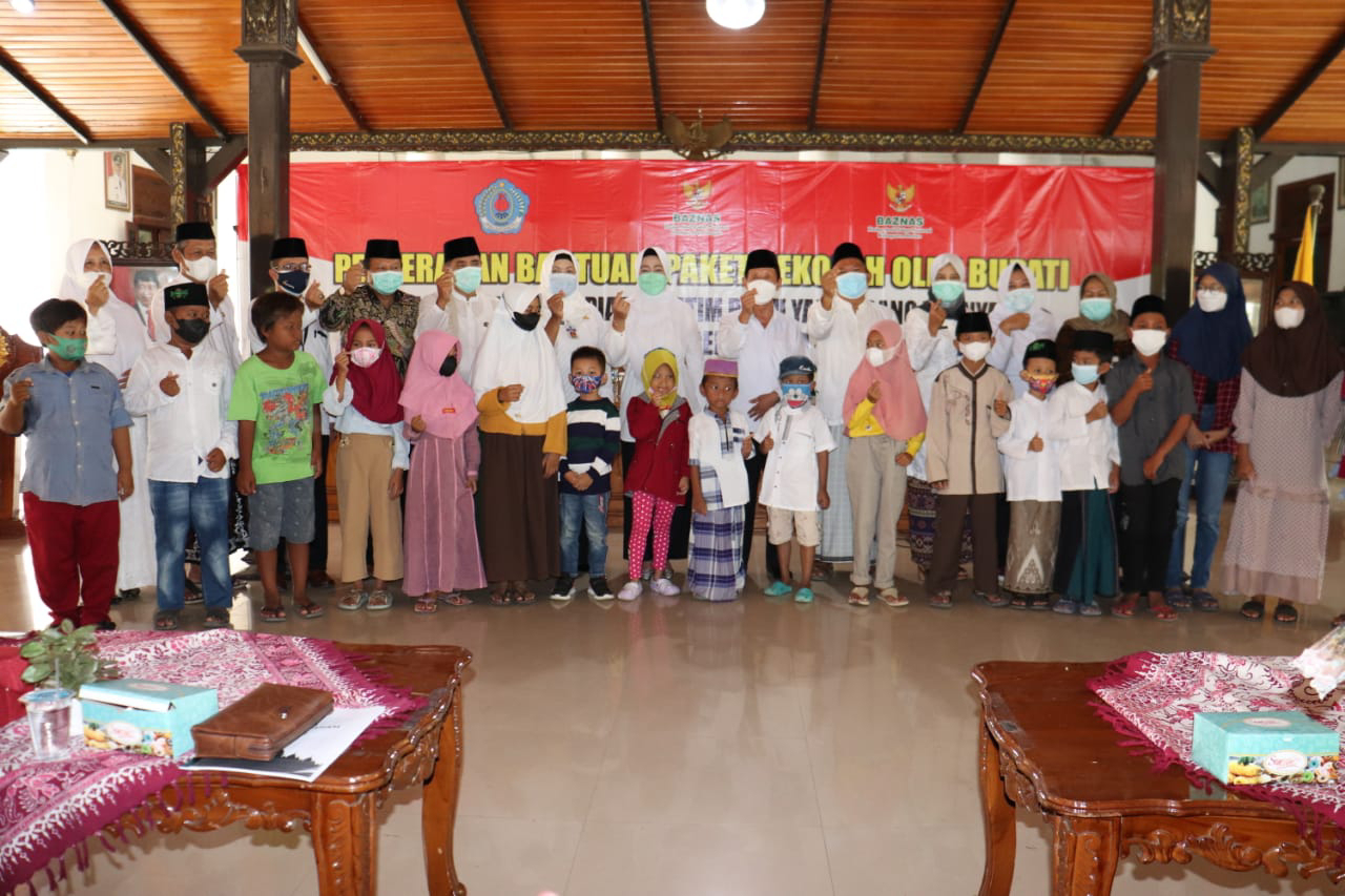 Baznas Santuni Anak Yatim Korban Pandemi Covid-19