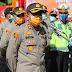 TNI, Polri, Forkompinda Lakukan Penyemprotan Serentak di Wilayah Hukum Polres Serang