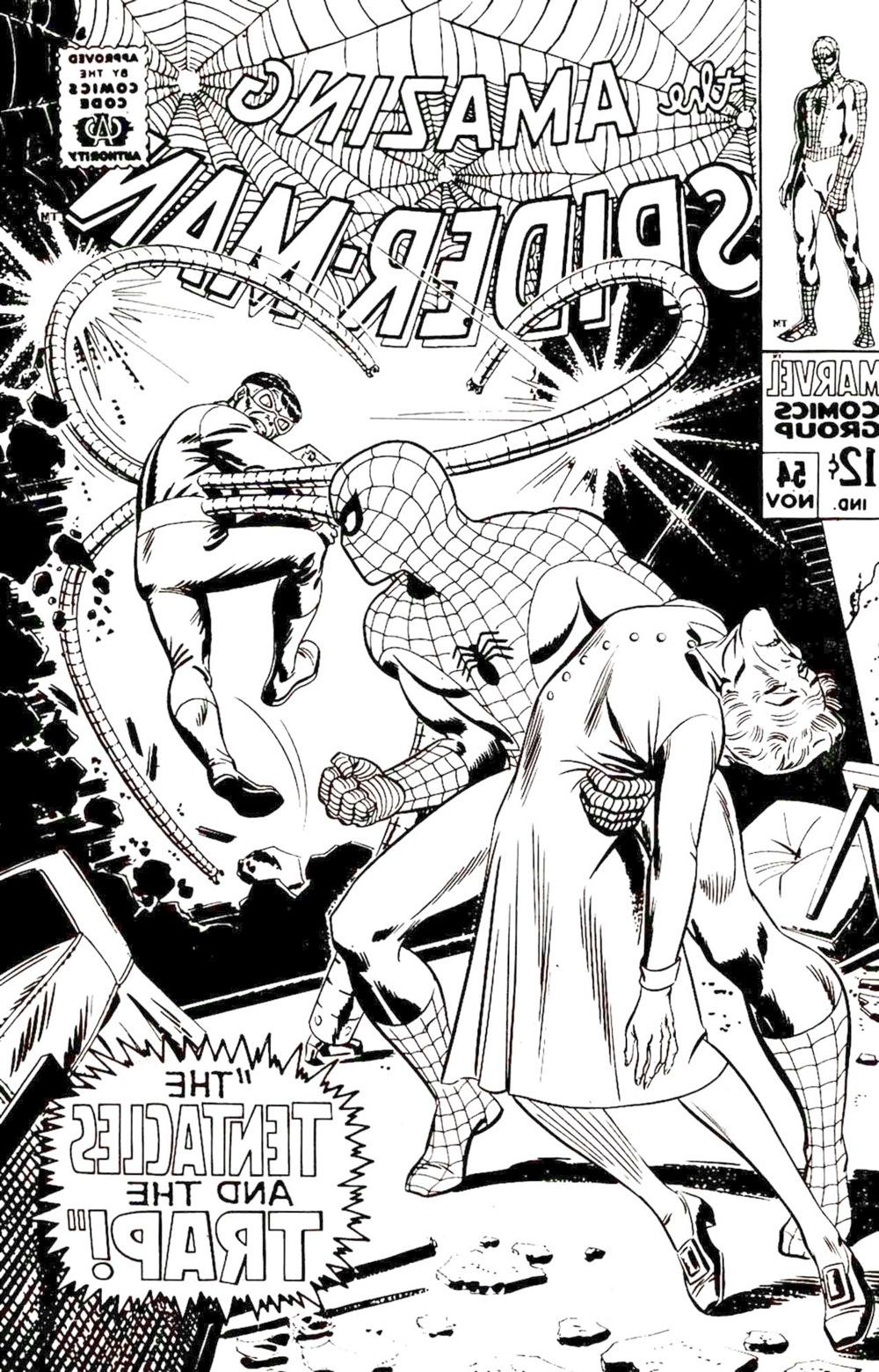 The amazing spider man 54