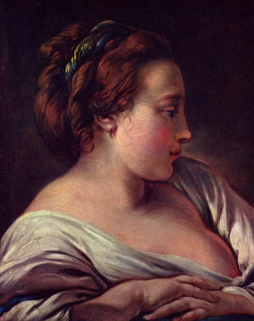 Francois Boucher - Woman head