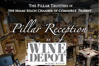 November Pillar Reception at Wine Depot