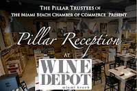 November Pillar Reception at Wine Depot