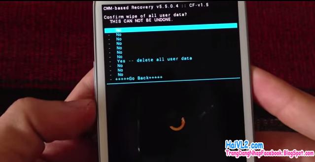 mở khóa điện thoại android