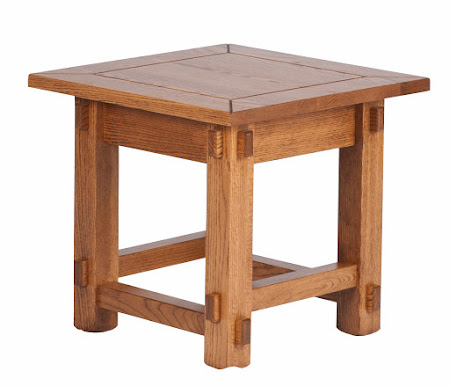 Cambridge End Table in Lexington Oak