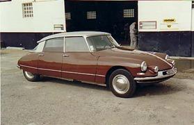 Citroen 1962 DS 19