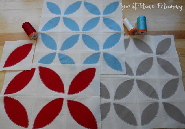 Free block of the month Sew at Home Mummy