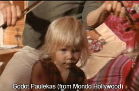 Годо Пулекас, он же Люцифер I, в фильме «Мондо Голливуд»