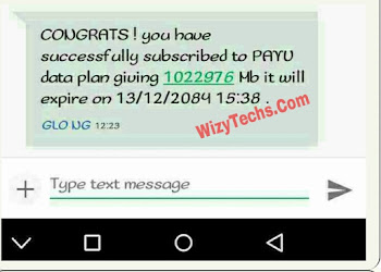 Have You Received Free Glo 100GB PAYU Data Subscription