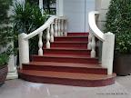 Granite Stairecase, marble handrail